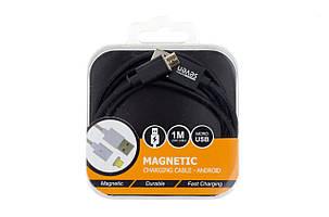 Магнитный кабель SEVEN Systems MC2 Micro-USB, black, фото 2