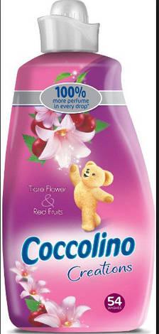 Кондиционер для белья Coccolino Tiare Flower & Red Fruits 1,9 л, фото 2