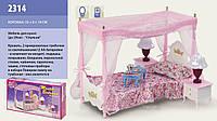 Набор мебели 2314 для Барби спальня