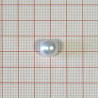 Пуговица ZM-02 Жемчужина 11,5мм бел. жемчуг