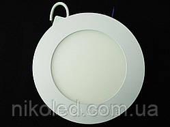 Светильник точечный Slim LED 9W круглый  Теплый белый