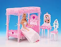 Мебель для Барби 2614, спальня со столиком