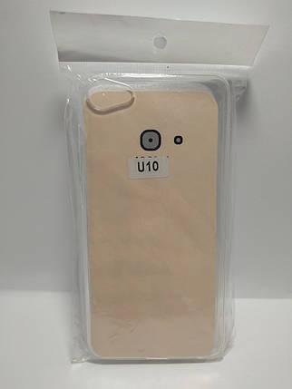 Силіконовий чохол для Meizu U10 (прозорий), фото 2