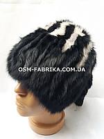 Женская меховая шапка кролик оптом и в розницу, фото 1