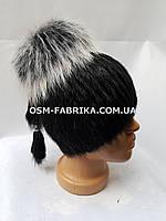 Теплая меховая шапка для женщин нутрия оптом и в розницу, фото 1