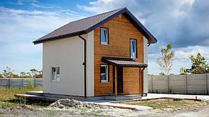 """Дом деревянный из SIP панелей """"Оптимальный"""""""