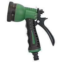 Пистолет распылитель 7-ми режимный (ABS+TPR) Grad 5012455