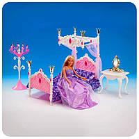 Мебель для Барби 1214, спальня со столиком