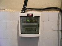 Щит управления холодильной машиной