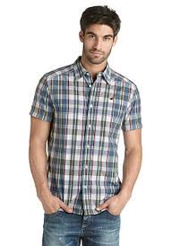 Мужские рубашки с коротким рукавом