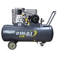 Поршневой компрессор с ременным приводом 380В 3кВт 550л/мин 10бар 150л Refine 7044231, фото 1