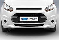 Ford Torneo Connect (2014-) Накладки на передний бампер 1шт