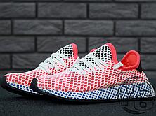 Женские кроссовки Adidas Deerupt Runner Red/Blue CQ2624, фото 2