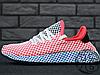 Женские кроссовки реплика Adidas Deerupt Runner Red/Blue CQ2624, фото 2