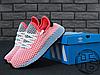 Женские кроссовки реплика Adidas Deerupt Runner Red/Blue CQ2624, фото 5
