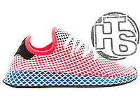 Женские кроссовки Adidas Deerupt Runner Red Blue CQ2624 0c028630c99da