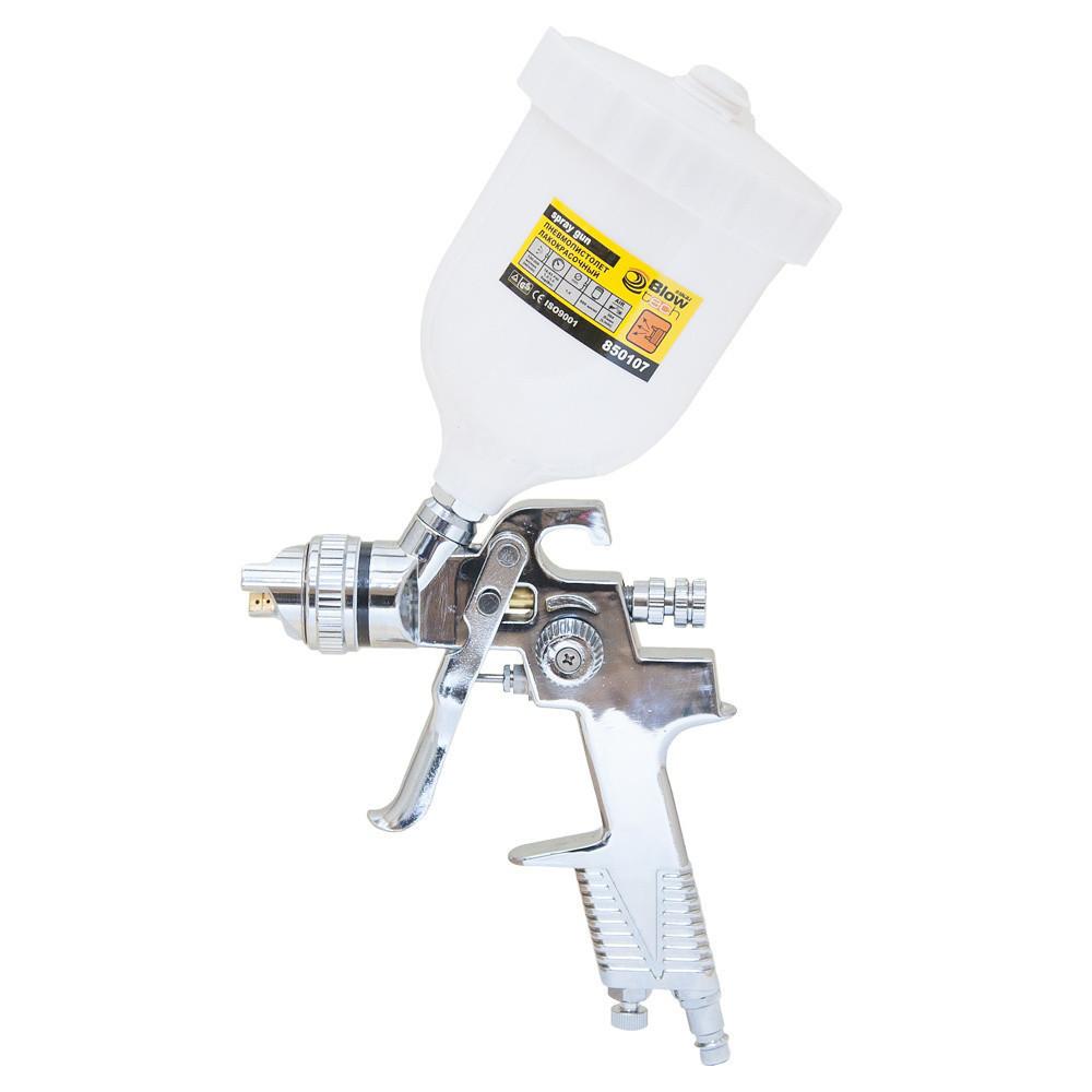 Краскораспылитель HVLP Ø1.4 (хром) с в/б (пласт) sigma 6812051