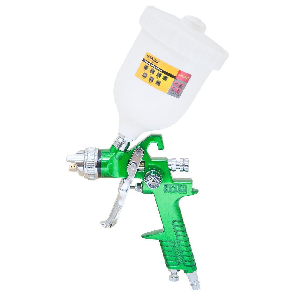 Краскораспылитель HVLP Ø1.4 с в/б  (зеленый)  sigma 6812021