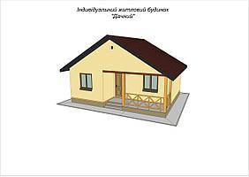 """Дом деревянный из SIP панелей """"Дачный"""""""
