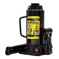 Домкрат гідравлічний пляшковий 12т H 230-465мм sigma 6101121