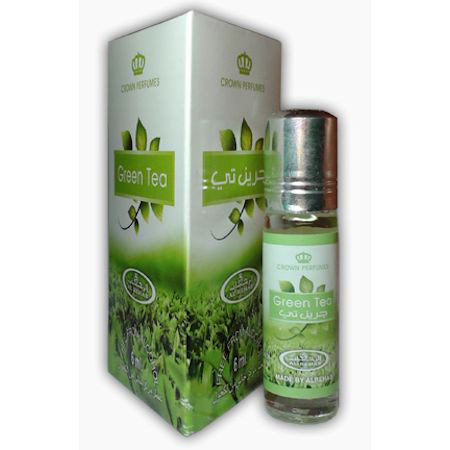 "Арабские масляные духи ""Green tea"" Al-Rehab, 6мл"