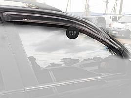 Дефлекторы окон (ветровики) Seat Ibiza IV 2008-> 5D  4шт(Hic)