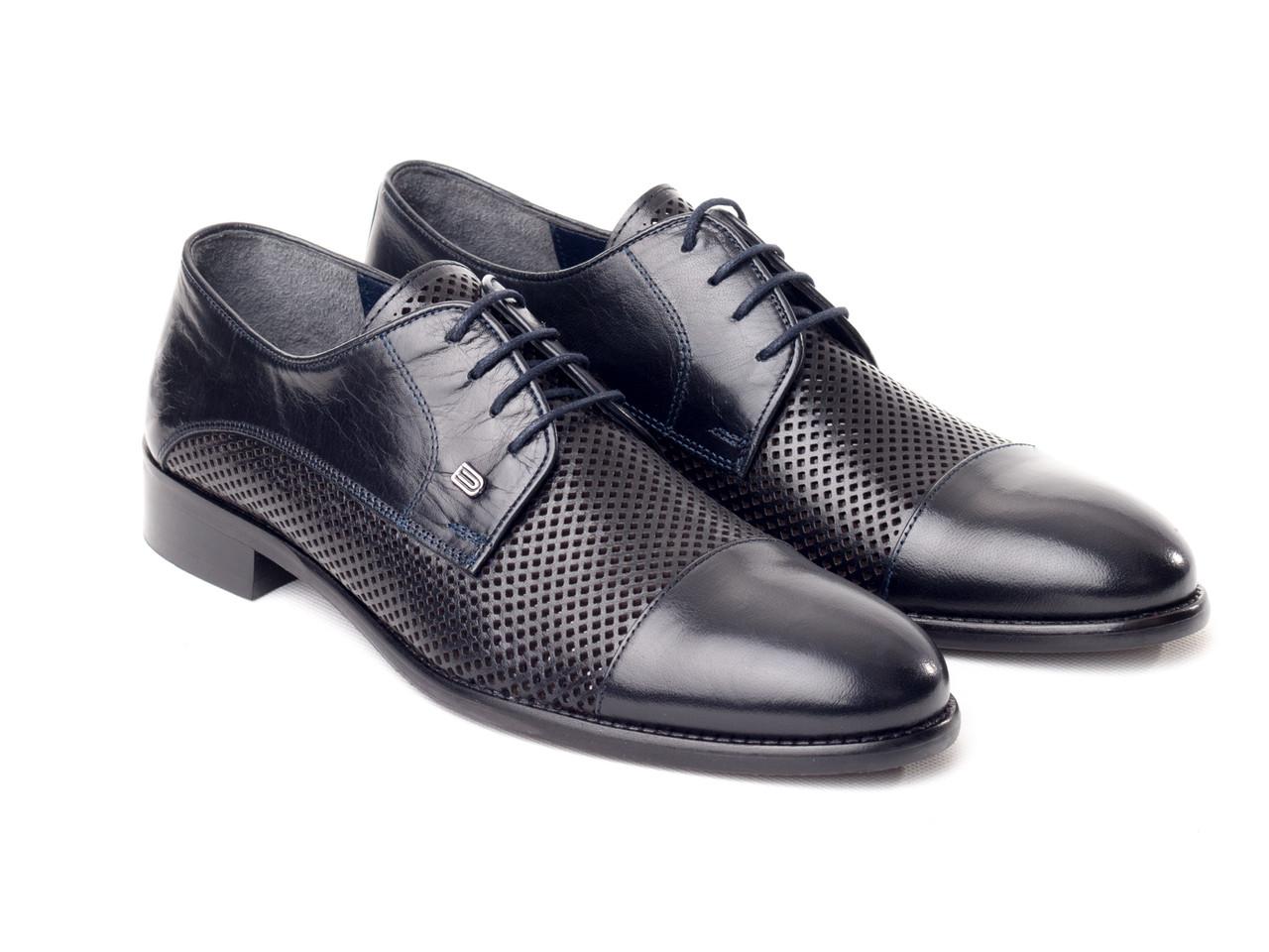 Туфли Etor 14895-10923-295 синие