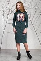 Качественное женское платье из ангоры от производителя