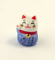 Манеки-неко «Кот удачи» синий, фото 1