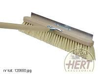 Щетка со скребком для очистки варочной камеры (светлые волосы, dł.50 см)