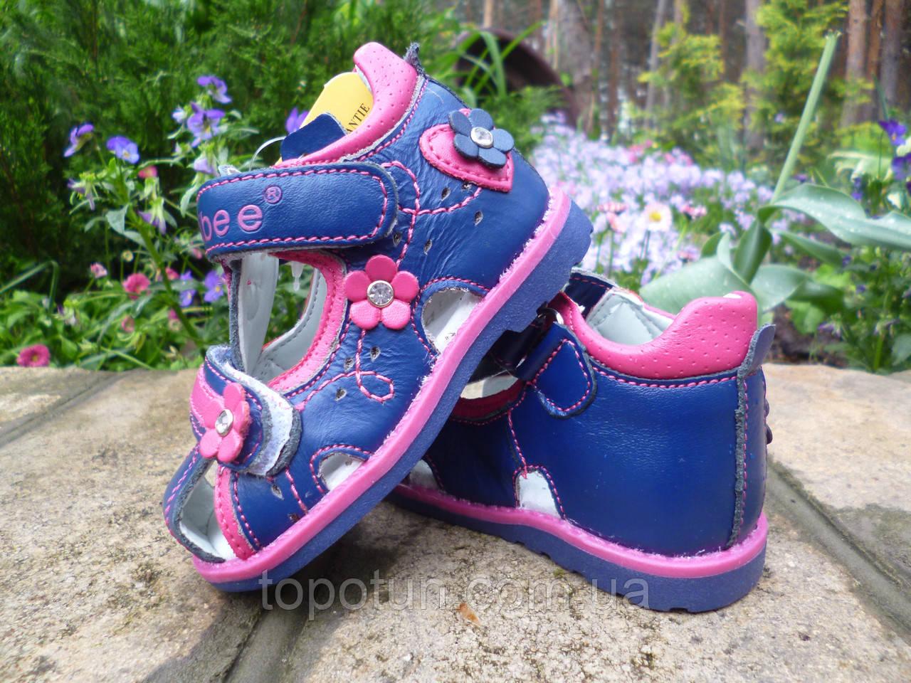 """Детские сандалии для девочек """"Clibee"""" Размер: 19,20,21,22,23,24"""