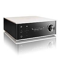 Сетевой мини-стерео ресивер Denon DRA-100 с Bluetooth и ЦАП Silver/Black