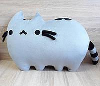 Мягкая игрушка-подушка Кот Пушин Pusheen - the cat 70 см ручная работа