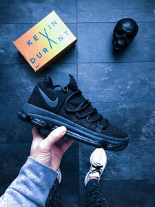 "Мужские кроссовки Nike Zoom KDX ""Blk Dark Grey"" АТ-726"