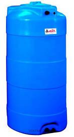 Накопительный бак для воды и других жидкостей ELBI CV 1000 литров, круглый вертикальный