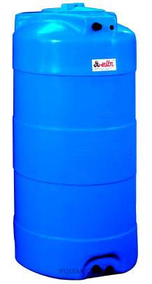 Накопительный бак для воды и других жидкостей ELBI CV 2000 литров, круглый вертикальный