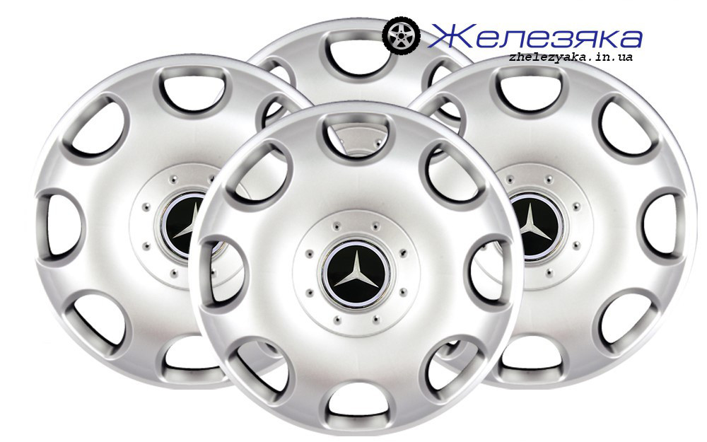 Колпаки на колеса R15 SKS/SJS №307 Mercedes-Benz