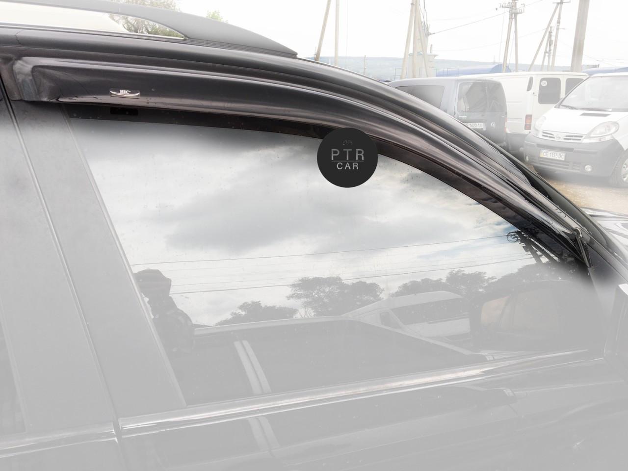 Дефлекторы окон (ветровики) Audi A6 2000-2012 (C5.4B)Allroad/ Avant 1997-2004 4шт HIC