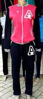 Молодежный спортивный костюм бомбер в разных цветах