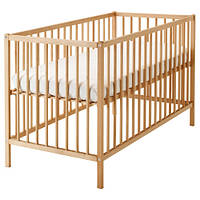 СНИГЛАР Кроватка детская, бук, 60x120 см, 30248537, IKEA, ИКЕА, SNIGLAR