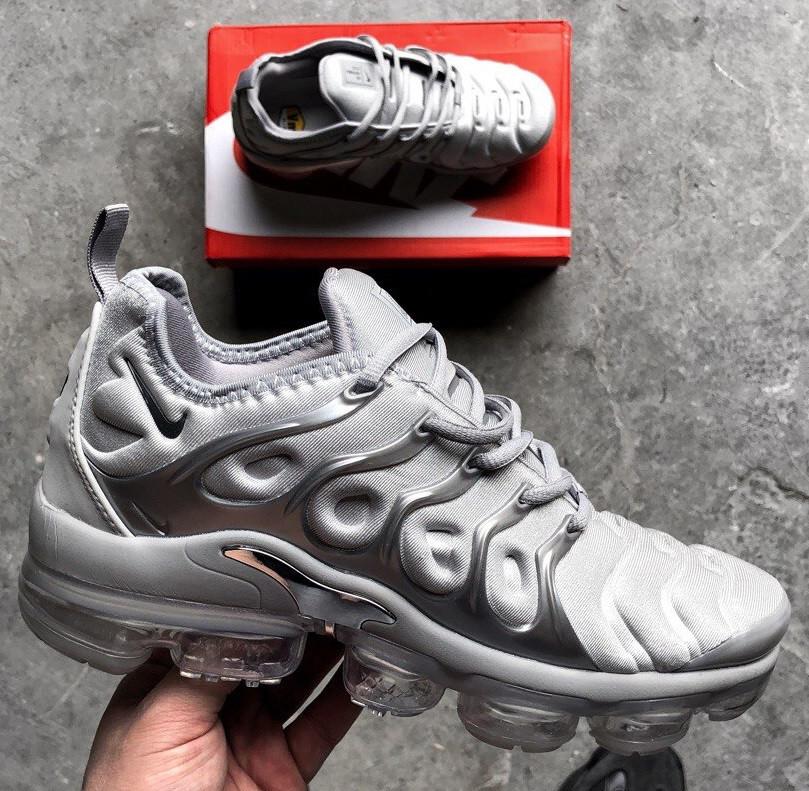 online store 40104 1fc76 Кроссовки Nike Vapor Max TN Grey. Топ качество! Живое фото (Реплика ААА+) -  купить по лучшей цене в Киеве от компании