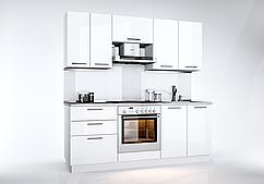 Кухня Вianca Белый Глянец  2 м.