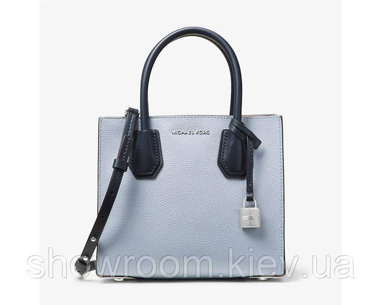 Женская сумка в стиле Michael Kors Mercer blue small