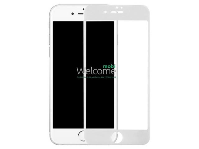 Стекло (lens) iPhone7 Plus белого цвета