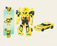 Трансформер автомобиль Robots Chenge желтый