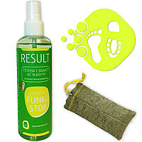 Эффективное средство для защиты ног и обуви запаха и грибка на основе серебра