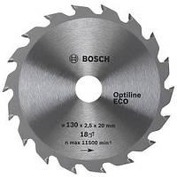 Диск пильный Bosch Optiline Wood ECO 190 Z48, посадка - 20/16мм