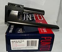 Ручка Punto раздельная BLADE QL GR/CP-23 графит/хром