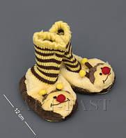 Тапочки зверюшки детские Пчелка CR-08