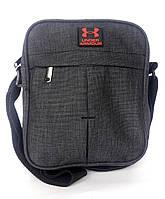 """Мужская сумка-планшетка """"Dark Armor"""" черный оттенок"""